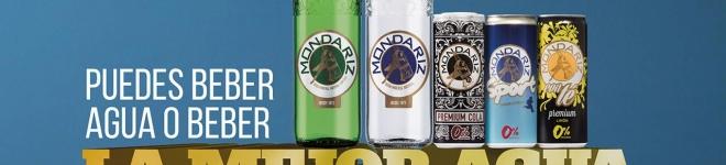 NOTICIA-«Mondarízate. La vida es como te la tomas». Con este mensaje Mondariz promociona la excelencia de su agua mineral premiada con 2 Diamonds Taste Awards.